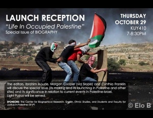 Life in Occupied Palestine.Oct29